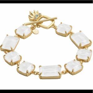 NWT Spartina 449 Goldtone Pineapple Bracelet